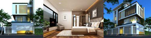 Thiết kế kiến trúc-nội thất biệt thự