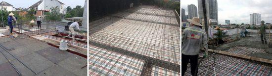 quy trình thi công xây dựng
