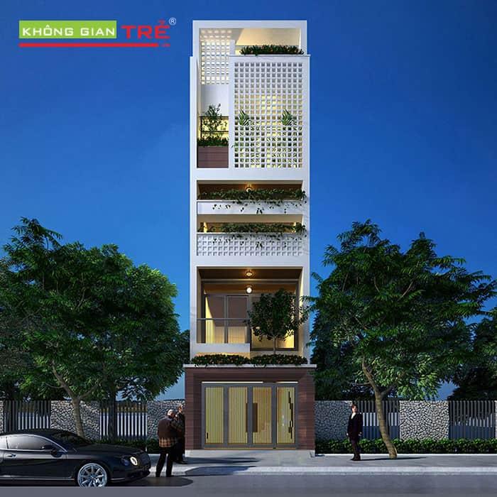 Thiết kế nhà phố 4.5x18m
