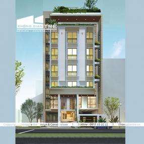 Thiết kế xây dựng khách sạn đẹp tại quận tân bình tphcm